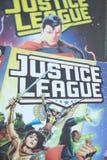 Gerechtigkeits-League-Superheldcomic-bücher stockbild