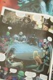 Gerechtigkeits-League-Superheldcomic-buch lizenzfreies stockfoto