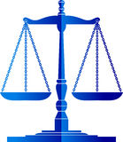 Gerechtigkeitskalen Lizenzfreies Stockbild