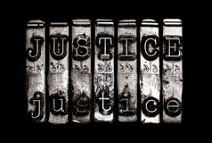 Gerechtigkeitskonzept Lizenzfreie Stockbilder