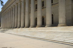 Gerechtsgebouw 8 van de overheid Stock Fotografie