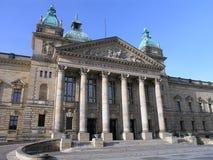 Gerechtsgebouw Leipzig Royalty-vrije Stock Afbeeldingen