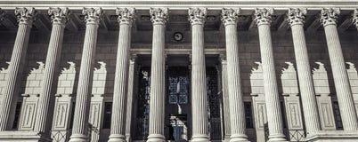 Gerechtsgebouw in Lyon, Frankrijk royalty-vrije stock fotografie