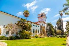 Gerechtsgebouw in Santa Barbara stock foto