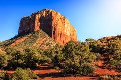 Gerechtsgebouwbutte in Sedona, Arizona Royalty-vrije Stock Foto