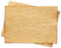 Gerecycleerd document. Reeks Royalty-vrije Stock Foto