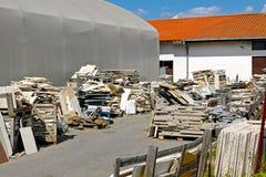 Gerecycleerd marmer Stock Foto's