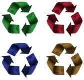 Gerecycleerde plasticine Stock Afbeeldingen