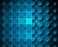 Geregelde abstracte blauwe achtergrond Stock Foto's