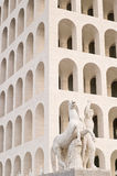 Geregelde Coliseum in Rome stock foto