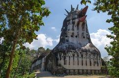 Gereja Ayam, l'église abandonnée de poulet photographie stock libre de droits
