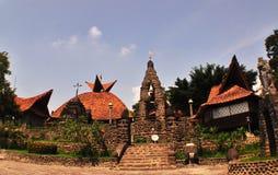 Gereja Pohsarang Kediri jawa timur. Gereja Kuno bangunannya sangat architectur stock image