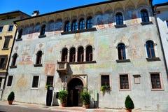 Trento trentino alto adige italy. Geremia Palace Trento trentino alto adige Italy stock photography