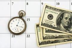 Gerencia de tiempo fotografía de archivo libre de regalías