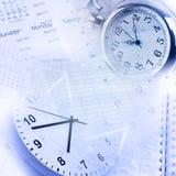 Gerencia de tiempo Imagen de archivo libre de regalías