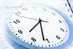 Gerencia de tiempo Foto de archivo libre de regalías