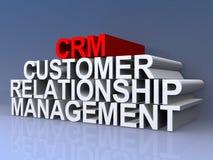 Gerenciamento de relacionamento com o cliente Fotografia de Stock Royalty Free