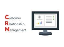 Gerenciamento de relacionamento com o cliente Imagem de Stock Royalty Free
