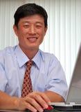 Gerente bem sucedido no escritório Imagem de Stock Royalty Free