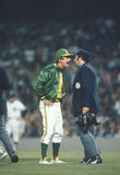 Gerente Billy Martin dos Oakland Athletics fotografia de stock royalty free