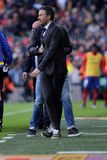 Gerente de Luis Enrique Martinez do FC Barcelona Imagem de Stock Royalty Free