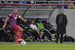 Gerente do futebol - Jose Mourinho imagens de stock