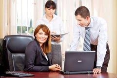 Gerente e empregadores Foto de Stock Royalty Free