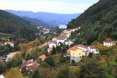 Geres landscape. Geres village in nort portugal stock images