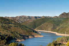 Geres National Park. In Portugal royalty free stock photo