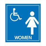Gereserveerd slechts voor gehandicapten Stock Foto's