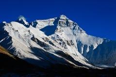 Gerespecteerde het meest everest Berg Stock Afbeelding