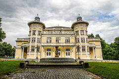 Gergely Csiky Theatre in Kaposvar Royalty Free Stock Photography
