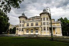 Gergely Csiky Theatre in Kaposvar Stock Photos
