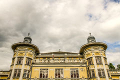 Gergely Csiky Theatre in Kaposvar Royalty Free Stock Image