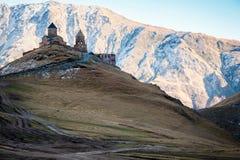 Gergeti church Royalty Free Stock Photos