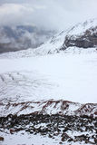 Gergeti glacier (View from Betlemi Hut) Stock Photography