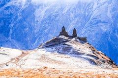 Gergeti Monastery Royalty Free Stock Image