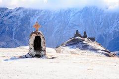 Gergeti Sameba Church Stock Images
