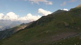Gergian山的令人惊讶的看法从寄生虫的与小河 影视素材