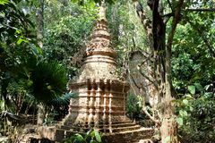 Gergo del tempio Immagini Stock Libere da Diritti