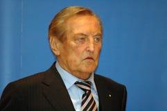 Gerhard Mayer-Vorfelder Lizenzfreies Stockbild