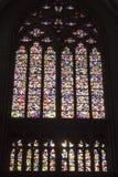 Gerhard Richter - de Kathedraal van het Gebrandschilderd glasvenster van Keulen Stock Fotografie
