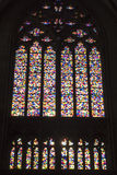 Cologne Cathedral - Gerhard Richter - stained glass window Stock Photography