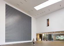Gerhard Richter Strontium at de Young Museum Royalty Free Stock Images