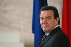 Gerhard Schröder Royalty Free Stock Image