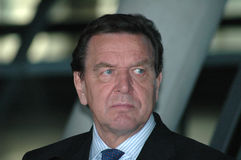 Gerhard Schroeder Royalty Free Stock Images