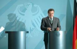 Gerhard Schroeder Royalty Free Stock Images