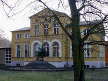 Gerhart Hauptmann Haus museum i Erkner Royaltyfri Bild