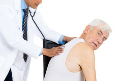 Geriatric care Stock Photo