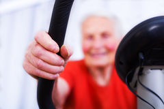 Geriatric sport Stock Photo